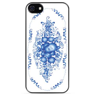 Чехол для iPhone Гжель - модный дизайн
