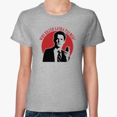 Женская футболка Twin Peaks Dale Cooper