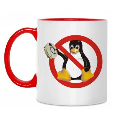 Кружка Stop Linux
