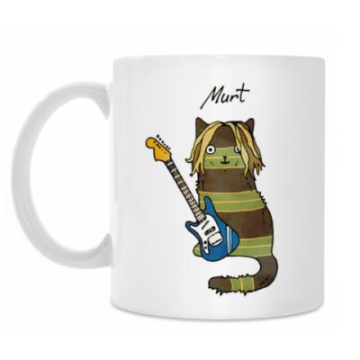 Кружка Murt из серии 'Music cats'