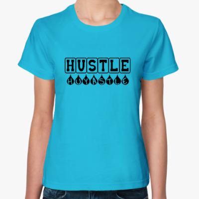 Женская футболка Hustle