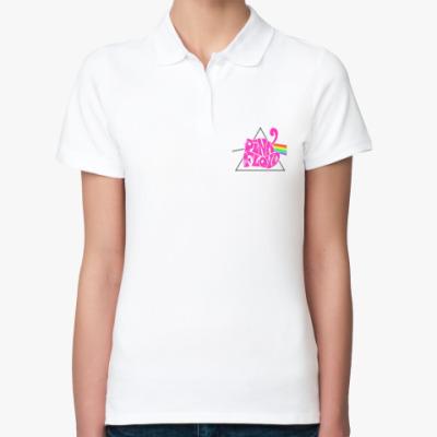 Женская рубашка поло Pink Floyd