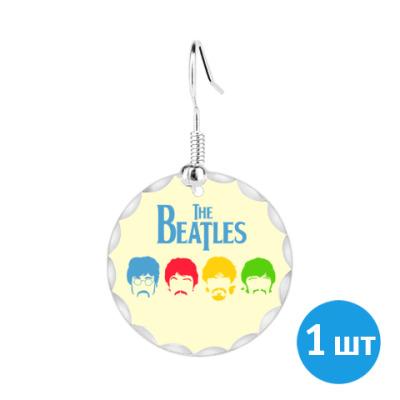 Серьги Beatles