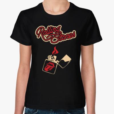 Женская футболка Rolling Stones