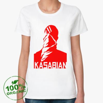 Женская футболка из органик-хлопка Kasabian