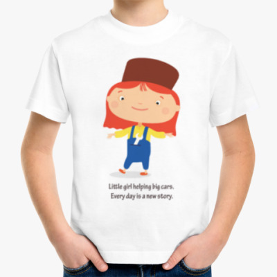 Детская футболка Доктор Машинкова / Doctor Mac Wheelie