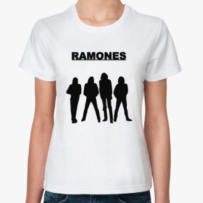 Классическая футболка Ramones fgr Жен