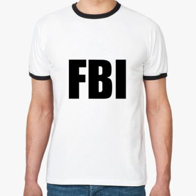 Футболка Ringer-T FBI