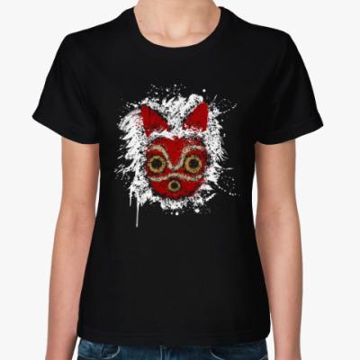 Женская футболка Мононокэ