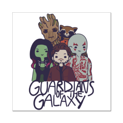Наклейка (стикер) Стражи галактики