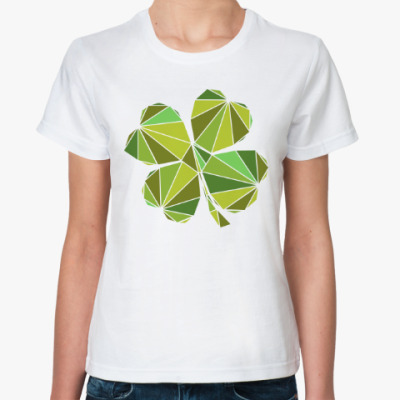 Классическая футболка Клевер
