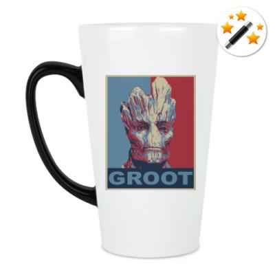 Кружка-хамелеон Groot