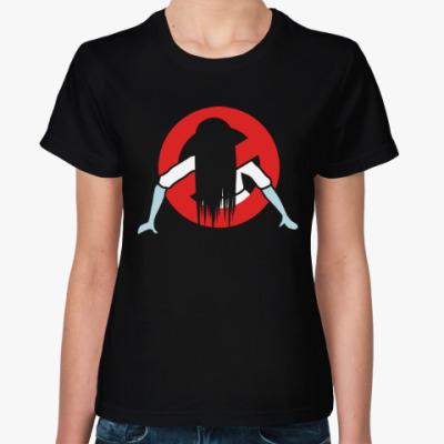 Женская футболка Звонок