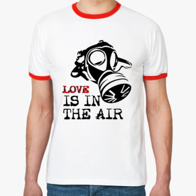 Футболка Ringer-T Love is in the air