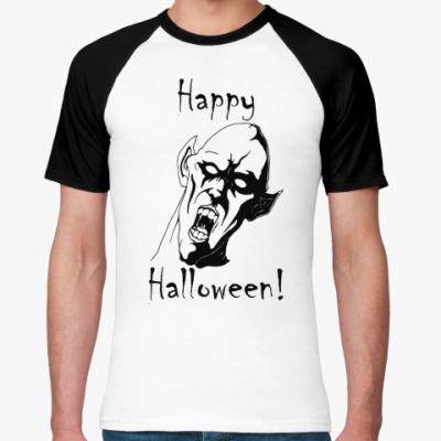 Футболка реглан Happy Halloween!