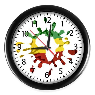 Настенные часы African Splash