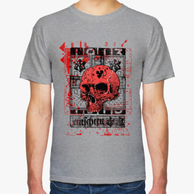 Футболка Skull and stars