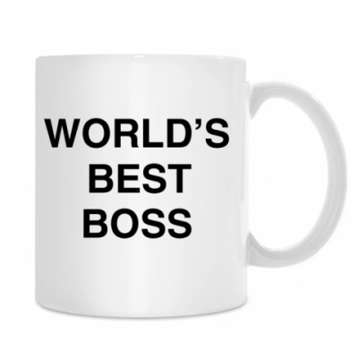 Кружка World's best boss