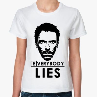 Классическая футболка  Dr. House