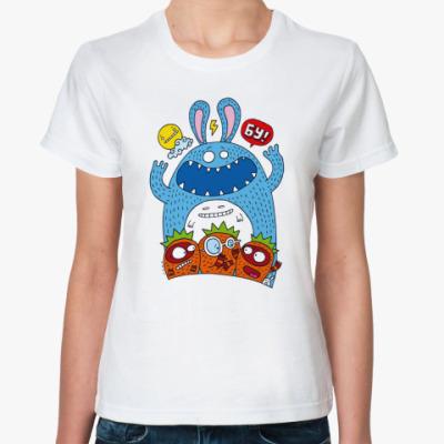 Классическая футболка  Бу!