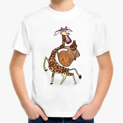 Детская футболка Мелман и Глория