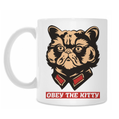 Obey the kitty.