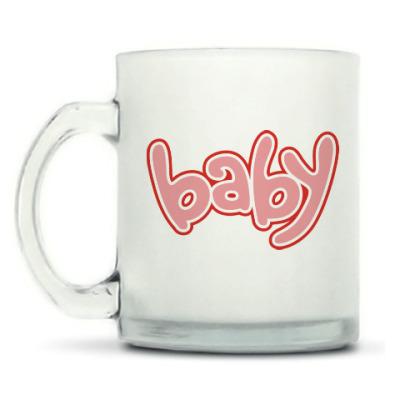 Кружка матовая Baby