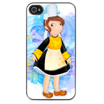 Чехол для iPhone Бретонская девочка