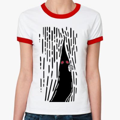 Женская футболка Ringer-T Нечто Сверхъестественное