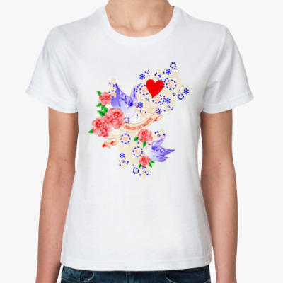 Классическая футболка Peace