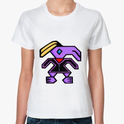 Классическая футболка 'Заяц'