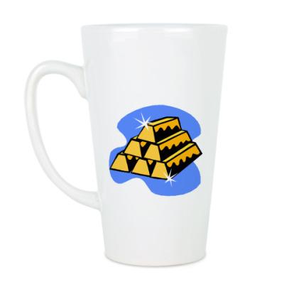 Чашка Латте Золото