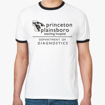 Футболка Ringer-T  Princeton plainsboro