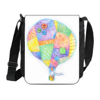 Сумка на плечо (мини-планшет) Воздушный шар