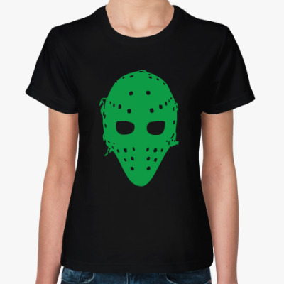 Женская футболка Хоккейная маска