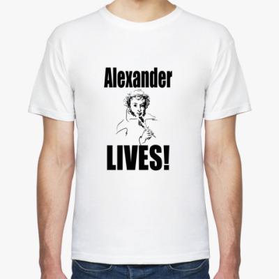 Футболка Alexander LIVES! Номер 1