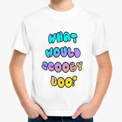 Детская футболка Детская Scooby Doo!