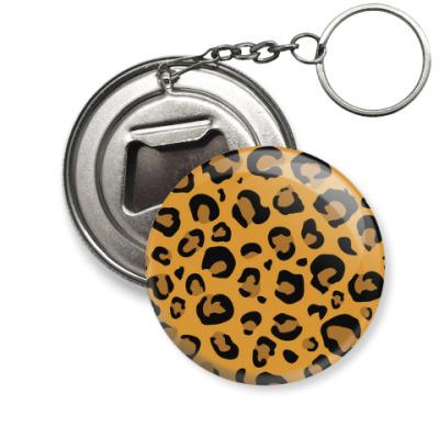 Брелок-открывашка 'Леопард'