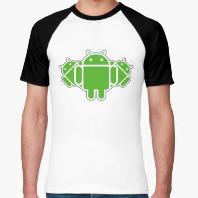 Футболка реглан  Androids