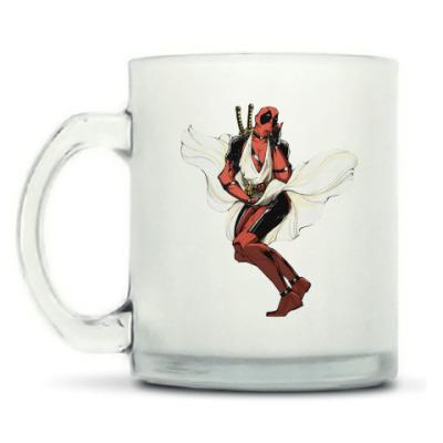 Кружка матовая Deadpool