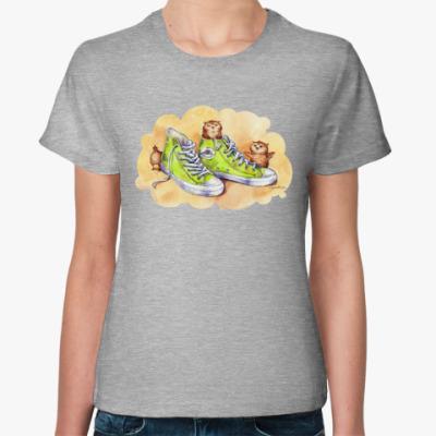 Женская футболка КросСовки