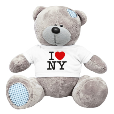 Плюшевый мишка Тедди NY Style
