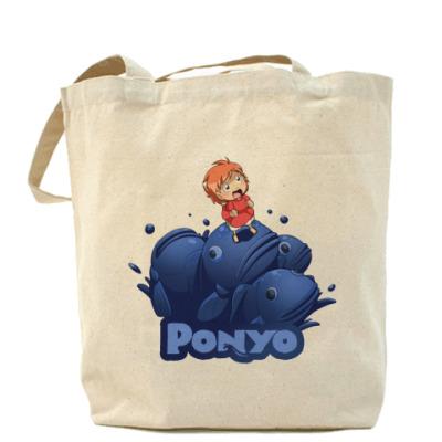 Сумка Ponyo #2 Холщовая сумка