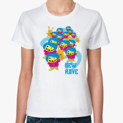 Классическая футболка New rave