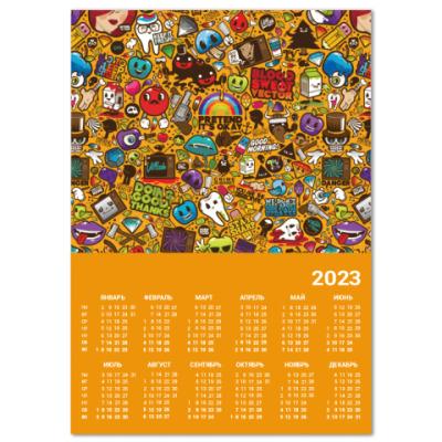 Календарь smily pictu A4