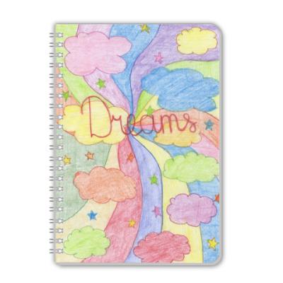 Тетрадь 'Dreams'