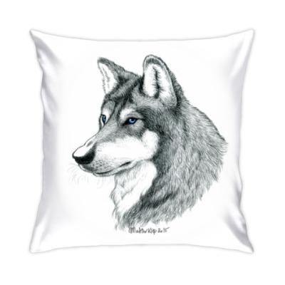 Подушка 'Лесной волк'