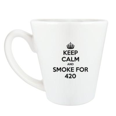 Чашка Латте keep calm
