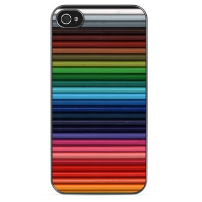 Чехол для iPhone Карандаши