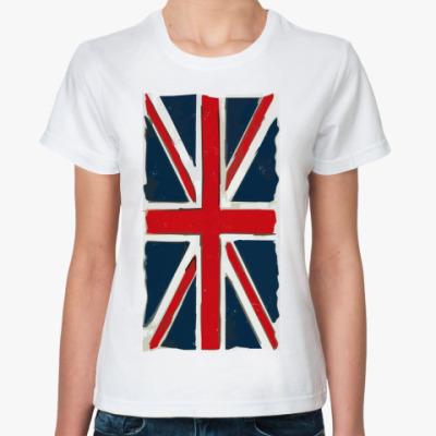 Классическая футболка British flag